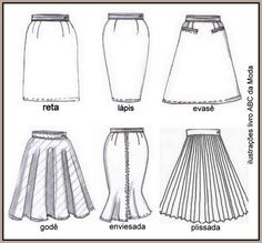So many skirt styles out there. Which is ur fave? Fashion Design Drawings, Fashion Sketches, Fashion Illustrations, Fashion Mode, Fashion Flats, Womens Fashion, Fashion Trends, Croquis Fashion, Flat Sketches