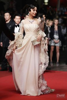 Fan Bingbing in Ellie Saab ...