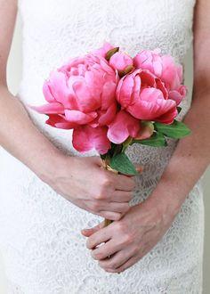 Silk peony wedding b
