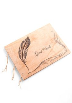 I Quill Remember You Guest Book, #ModCloth