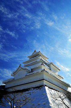 Tsuruga-jō Castle (會津若松城或鶴城)  Aizuwakamatsu-shi,  Fukushima-ken, Japan