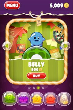 """UI game """"Jelly Jumpe..."""