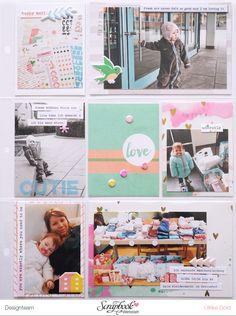Project Life Page - Pinkfresh Studio *Felicity* - von Ulrike Dold