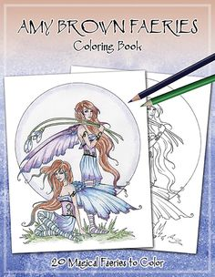 MISC GOODIES - COLORING BOOKS - Amy Brown Fairy Art - The Official Gallery