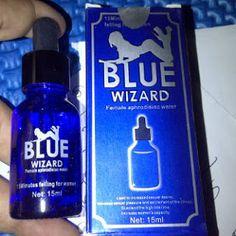 Obat Perangsang Wanita Blue Wizard asli merupakan obat perangsang yang berupa cairan yang berfungsi untuk meningkatkan gairah