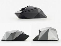 Orime Mouse 2 - Form Factor design trending with faceted surface  #Trend #Surface
