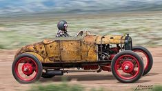 Scary Fun: 1927 Ford Speedster - http://barnfinds.com/only-for-the-courage-1927-ford-speedster/