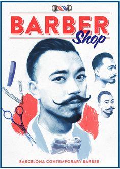 Barber Shop on Behance