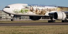 #Air New Zealand presenting the #Hobbit-Boeing 777-300