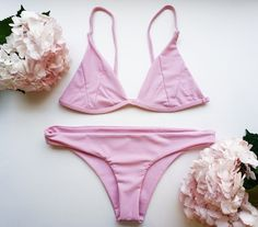 f213bdd719c32 Shop Roses & Waves' exclusive Pink Stone Fox Swim Bikinis. Isla Top and