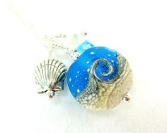 Ocean Necklace Ocean Pendant Tidal Wave by ShakespearesSisters
