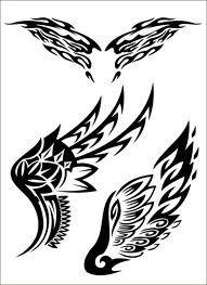 wing stencil - Cerca con Google