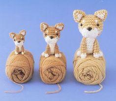 Diese kleinen Hunde häkeln.     Anleitung Kostenlos  Englisch  Online verfügbar     zur Anleitung: Klick Hier