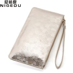 Fashion Sequin women wallets PU leather Long purse Ladies clutch bags small coin purses Zip Bag Card Holder Women's Clutches #Affiliate