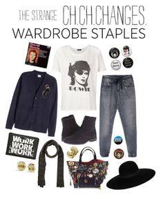 Strange changes by perpetto on Polyvore featuring moda, R13, Camper, Marc Jacobs, David Yurman, David Webb, Maison Michel, Marc by Marc Jacobs and CO