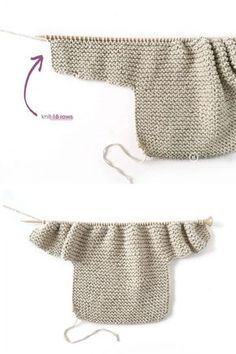 Terrific Totally Free sewing baby jacket Popular How to make a Knitted Kimono Baby Jacket - Free knitting Pattern & tutorial Baby Cardigan Knitting Pattern, Baby Knitting Patterns, Baby Patterns, Free Knitting, Free Sewing, Crochet Dress Outfits, Baby Dress Tutorials, Baby Kimono, Jacket Pattern