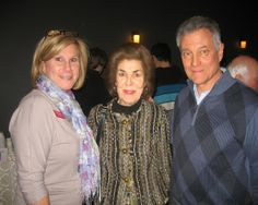 Lisa Marchi, Director of Development and Communications at Berkshire South, and Barbara Manring with husband Roger Manring.