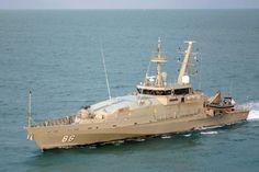 Royal Australian Navy Armidale Class Patrol Boat HMAS Albany.