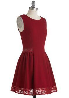 Maraschino Cheery Dress, #ModCloth
