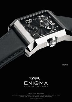 DISCOVER THE ENIGMA | Client ENIGMA by Gianni Bulgari