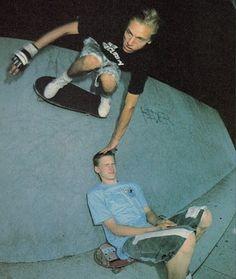 Natas Kaupas & Mike Vallely.
