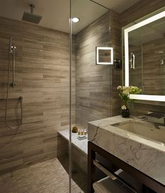 Content filed under the Shower Panels taxonomy. Bathroom Shower Panels, Master Bath Shower, Steam Showers Bathroom, Bathroom Floor Tiles, Bathroom Layout, Bathroom Ideas, Tile Floor, Warm Bathroom, Loft Bathroom