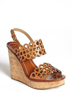 Can't wait till these arrive on my doorstep!!! Tory Burch 'Nori' Wedge #Nordstrom