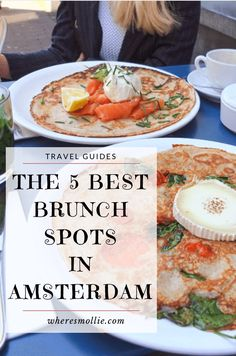 Looking for somewhere to have lunch, breakfast or brunch in Amsterdam? Check out my favourite brunch spots in Amsterdam to add to your bucket list! Tour En Amsterdam, Visit Amsterdam, Amsterdam Travel, Amsterdam Netherlands, Amsterdam Food, Hotel Amsterdam, Chiang Rai, Beste Hotels, Amsterdam Things To Do In