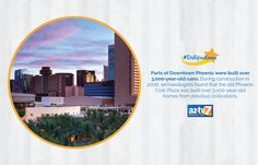 #DidYouKnow: There are parts of downtown #Phoenix that were built over 3,000-year-old ruins? #AZTV