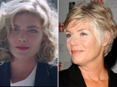 Kelly McGillis aging gracefully unlike most of her other fellow actors in their 50's.