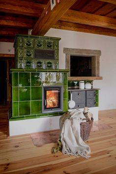 Image may contain: indoor Stove Heater, Small Log Cabin, Outdoor Oven, Cooking Stove, Herd, Earthship, My Dream Home, Building A House, Architecture Design