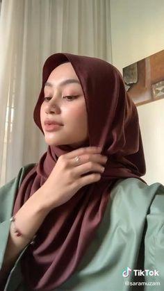 Stylish Hijab, Modest Fashion Hijab, Modern Hijab Fashion, Street Hijab Fashion, Hijab Fashion Inspiration, Muslim Fashion, Mode Inspiration, Hijab Turban Style, Mode Turban
