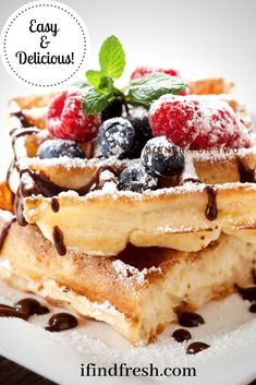Flourless Waffles-Golden Honey Oat Crispy Waffle, Keto Waffle, Waffle Recipes, Gourmet Recipes, Low Carb Recipes, Healthy Recipes, Chocolate Waffles, Salted Chocolate, Delicious Chocolate