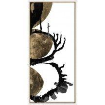 Gilded Indigo I - Abstract - Canvas Art - Accessories