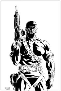 Snake Eyes by Mike Zeck