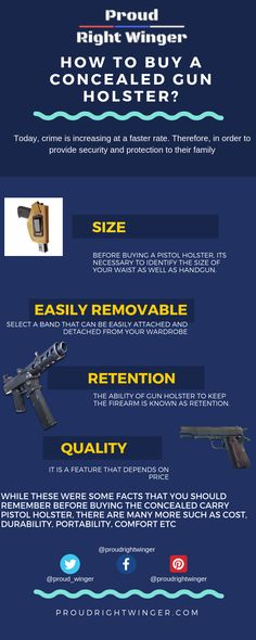 Get ready to know the more tips to buy the concealed gun holsters online to fit your pistol perfectly. Pistol Holster, Holsters, Concealed Carry, People People, Guns, Fit, Weapons Guns, Shape, Revolvers