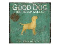 Good Dog Artwork- 24x24