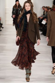 Polo Ralph Lauren Fall 2014 Ready-to-Wear collection, runway