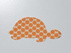Sea Turtle Iron On Cotton Fabric Applique