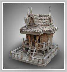 thai spirit house | Antikasia oriental antiques. Online gallery of fine Korean furniture ...