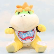 New Super Mario Bros. Plush Bowser Jr. Soft Toy Stuffed Animal Doll Teddy 7""