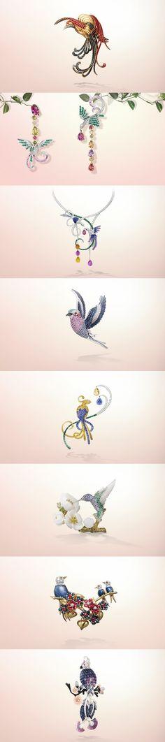 Tweet, tweet - fabulous birdie jewelry from Van Cleef.  Love it?