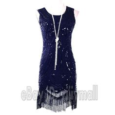 Black #1920's flapper dress costumes fringing #charleston fancy dress 20s #gatsby,  View more on the LINK: http://www.zeppy.io/product/gb/2/252250297623/