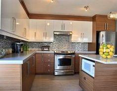 Construction & rénovation - Transformation - Refacing d'armoires de cuisine en mélamine sur Annonceaumax.com