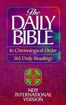 The Daily Bible 365 Daily Readings Chronological order 1989, Paperback