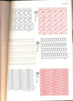Irish lace, crochet, crochet patterns, clothing and decorations for the house, crocheted. Filet Crochet, Crochet Stitches Chart, Tunisian Crochet Patterns, Crochet Baby Dress Pattern, Crochet Cord, Crochet Motifs, Granny Square Crochet Pattern, Crochet Diagram, Crochet Zigzag