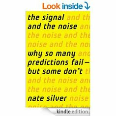 Nate Silver's The Signal and the Noise explores the art of forecasting. Silver explains that we are often susceptible to cognitive biases, personal biases and information overload, all of which impede or decision-making ability. Drawing from his own ground-breaking work, as well as that of other successful forecasters, Silver helps readers better understand these biases to separate the 'signal' from the 'noise' and, ultimately, make better predictions.
