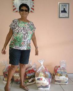 Nossa voluntária Sônia arrecadou 10 cestas básicas no aniversário do esposo especialmente para doar para o GACC-RN. É muito amor por esses voluntários.  #GACCRN #SOLIDARIEDADE