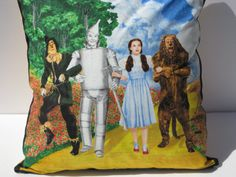 Wizard of Oz 16 Decorative Pillow Cover Cushion by LanTasTicStuFF 19 Birthday, Great Films, Over The Rainbow, Wizard Of Oz, Decorative Pillow Covers, Cushions, Trending Outfits, Unique Jewelry, Handmade Gifts