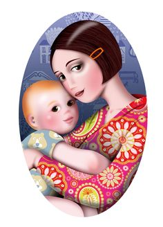Maternitat. Maternidad. By Carme Badia